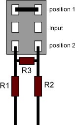 Diagram of the switch assembly for the Switched Attenuator