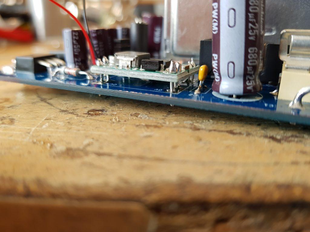 MiniTiouner V2 PCB DC-DC Converter installation