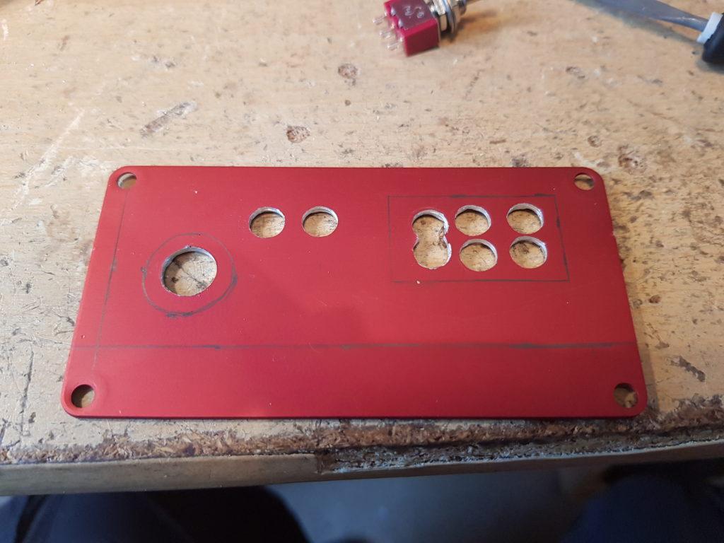 MiniTiouner Front Panel Machining