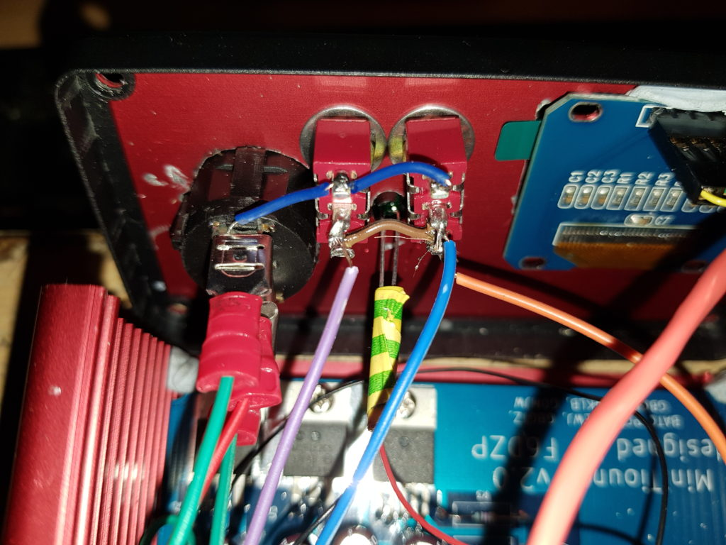 MiniTiouner LNB Voltage Selector Switch Wiring