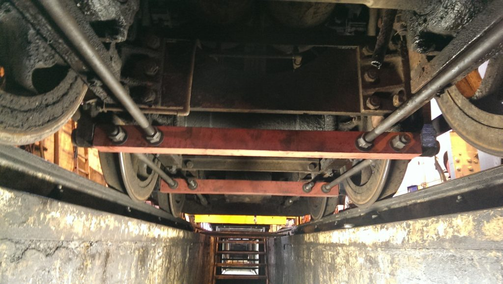 The Long Term Project, Part 3: 1382's Brake rigging fitted