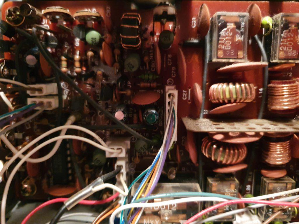 TS-403s Poor RX Problem - Filter Board Cables 6