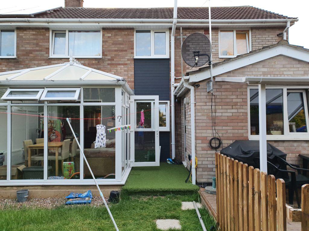 Rear Garden Antenna Install